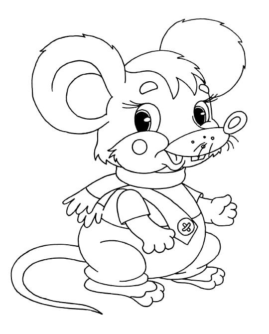Раскраски зверюшки для детей